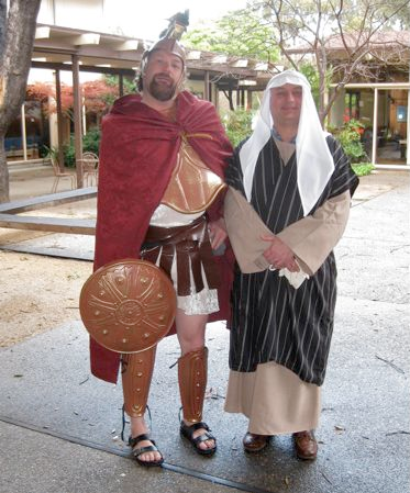 Tax Collector and Roman Soldier