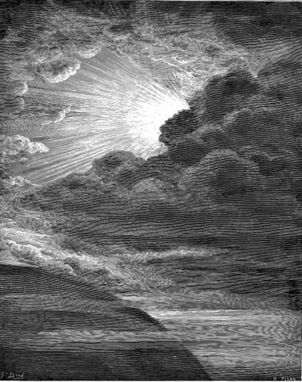 The first day, as imagined by Gustav Dore