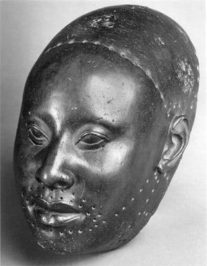 Bronze Yoruba sculpture